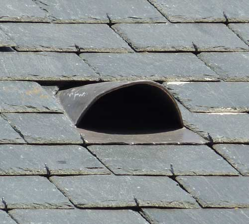 Roof Access For Birds  Obrien Sheet Lead Fabrications