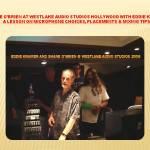 """Jimi Hendrix recording engineer Eddie Kramer at Westlake Audio"""