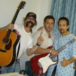 """Nicky's Third round of chemo_the Visit with guitars"""