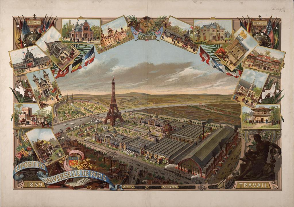 Exposition universelle de 1889 à Paris