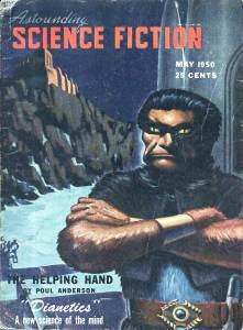 Astounding Science Fiction, vol. XLV, no. 3, May 1950