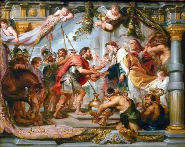 The Meeting of Abraham and Melchizedek, Peter Paul Rubens, 1625