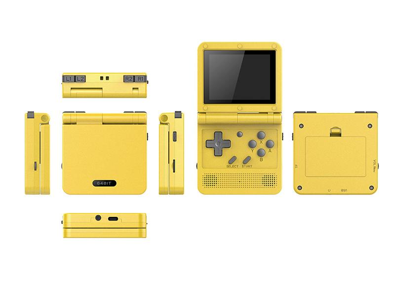 powkiddy v90 lemon yellow
