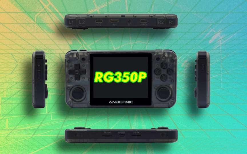 RG350P Future Retro Synthwave Handheld