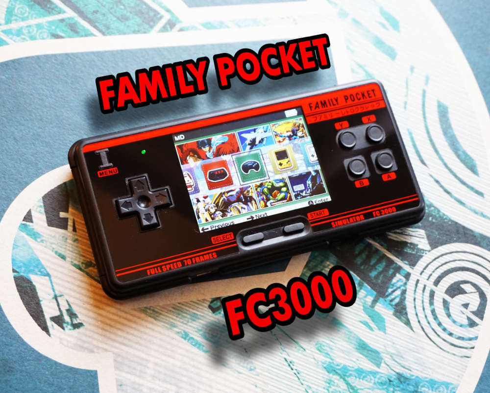 Family Pocket FC3000 Retro Gaming Handheld