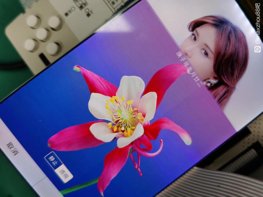 RG552 LCD Screen