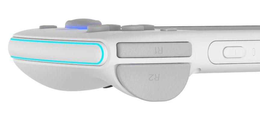 Odin analog shoulder buttons