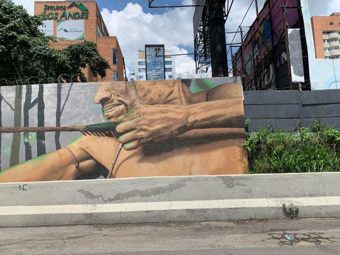 El indigenismo invade a Caracas, antes del 12 de octubre 6