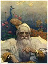 julioverne14-La isla misteriosa 6-Captain Nemo from The Mysterious Island by Jules Verne illustrated by N. C. Wyeth 1918
