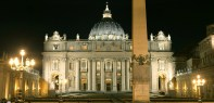 Basilica de San Pedro - foto70-exterior de noche