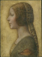 Portrait of a young Lady by Leonardo da Vinci
