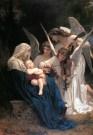 La Virgen rodeada de ángeles - foto1mediana