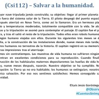 •(Csi112) – Salvar a la humanidad.