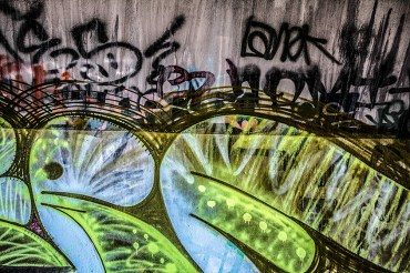 Color Photography: Street Art - Bunker