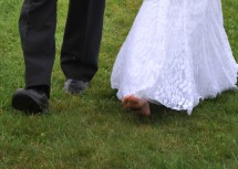 Wedding Bare Feet