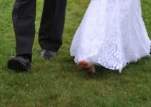 Wedding Bare Feet