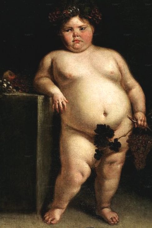 obese_fat_boy_la_monstrua_desnuda_1680_de_Juan_Carreno_de_Miranda.