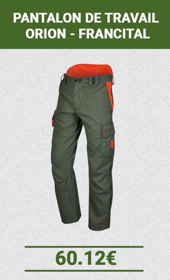 Pantalon de travail Francital