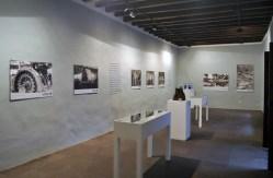 Vista de la sala principal, la dedicada a La Palma, de la exposición.