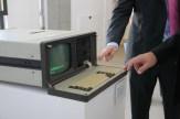 El ordenador expuesto databa de 1985 y había estado en funcionamiento hasta 2011. Todavía funciona / LUIS ROCA ARENCIBIA