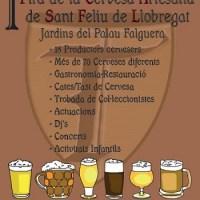 Fira de la Cervesa Artesana a Sant Feliu de Llobregat