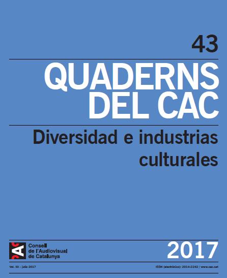 Quaderns del CAC dedicado a la diversidad y las industrias culturales