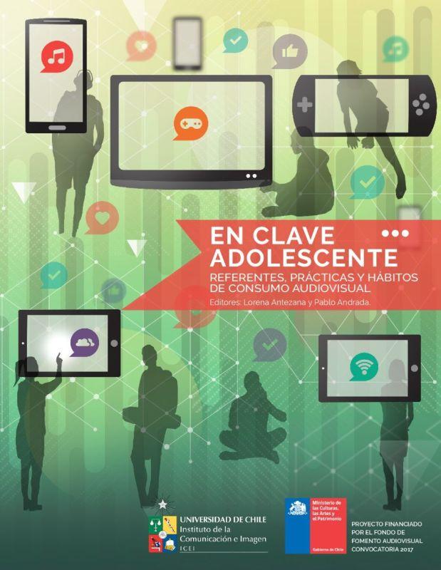 Portada del libro En clave adolescente: referentes, prácticas y hábitos de consumo audiovisual