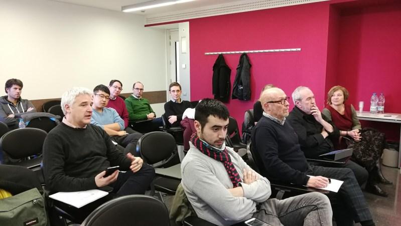 Asistentes a la última sesión del Seminario Digidoc.