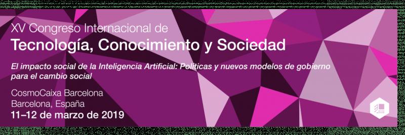 XV Congreso Internacional de Tecnología, Conocimiento y Sociedad