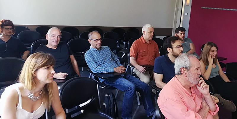 Parte de los asistentes al último seminario DigiDoc del curso 2018-2019