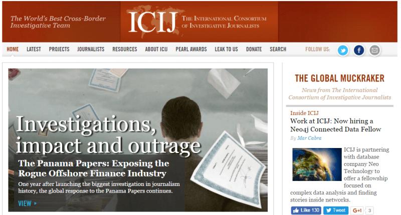 International Consortium of Investigative Journalists