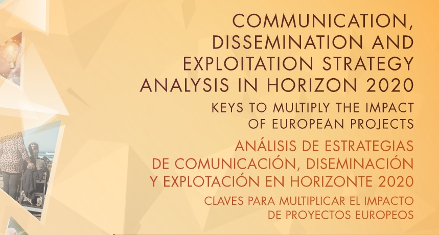 """Communication, dissemination and exploitation strategy analysis in Horizon 2020"""