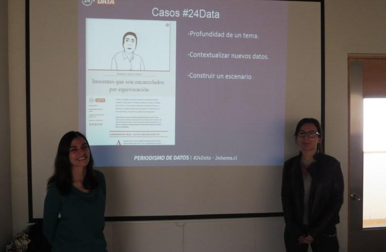 24 Data de TVN visitó la UAI y explora posibles investigaciones conjuntas de periodismo de datos con nuestro observatorio