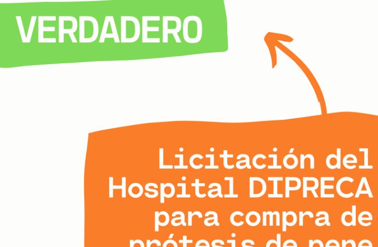 ¿Hubo licitación por prótesis de pene en el Hospital de Carabineros?