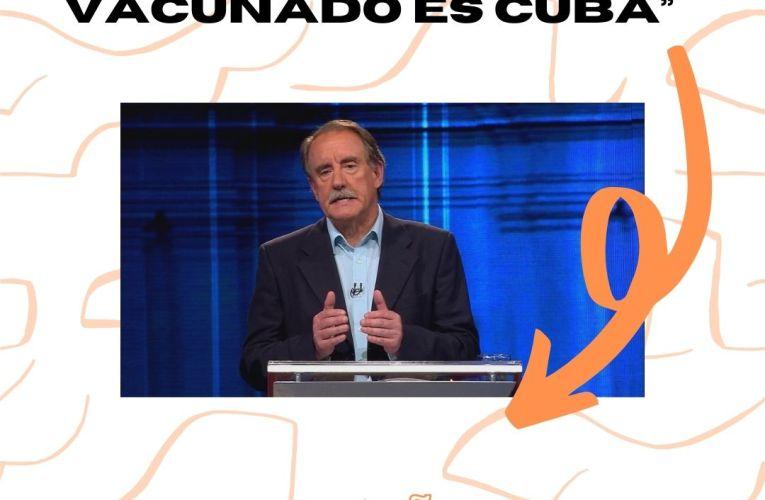 """""""El primer país en tener más del 80% vacunado es Cuba"""""""