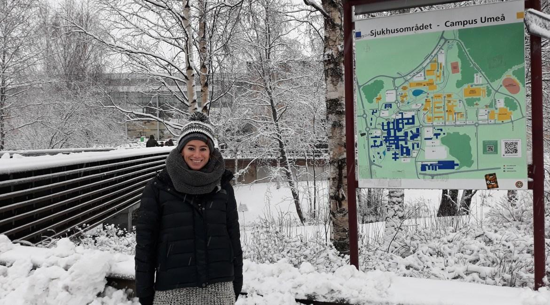 Helena de Sola increase her knowledge in the University of Umeå.