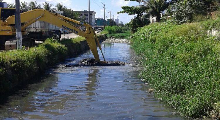 Drenagem dos cursos de água