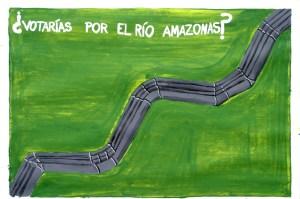 La Restinga_votarias por el amazonas