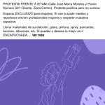 Llaman feministas a protestar contra candidatos machistas frente el IETAM