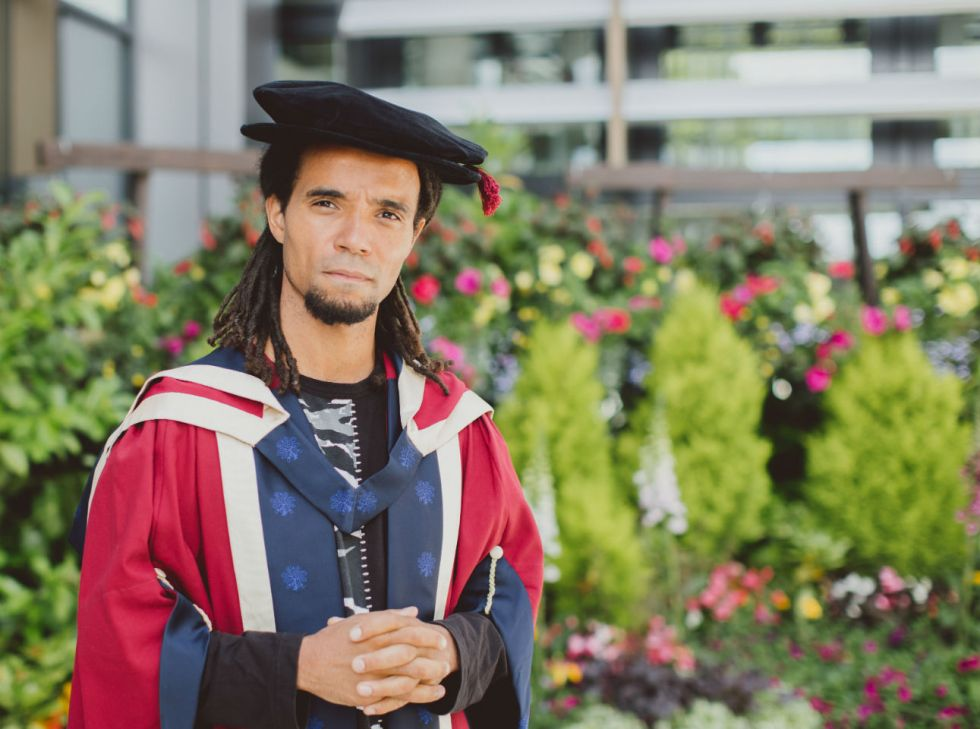 Akala in graduation gown 1291x960