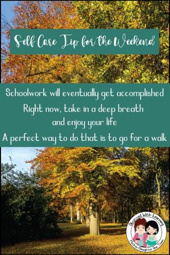 Self Care Activity - Go For a Walk