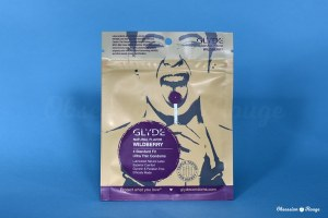 glyde wild berry condoms