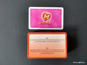 Monogamy Intimate card