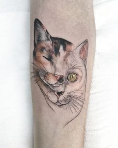 Tatuajes De Gatos Obsession Tattoo