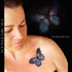 Tatuajes De Mariposas Obsession Tattoo