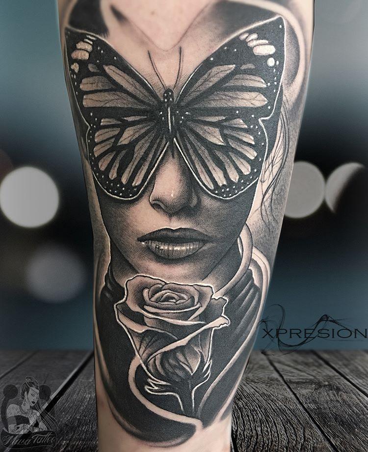 Tatuajes De Mariposas Obsession Tattoo