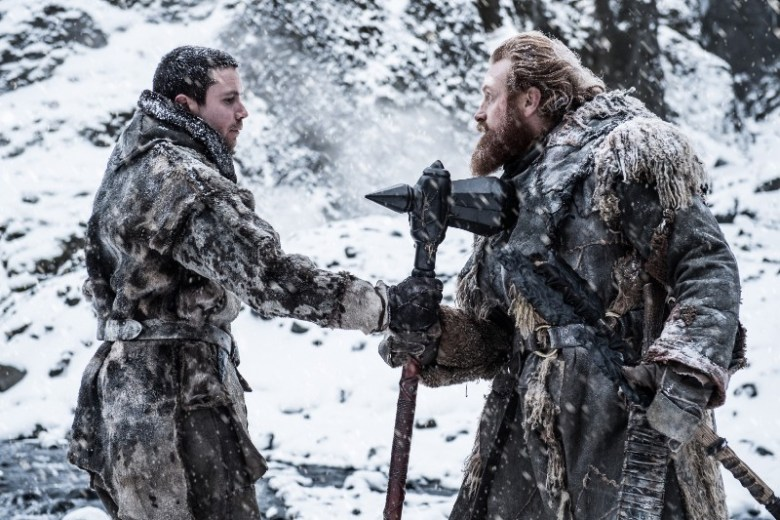 Beyond the Wall - Gendry and Tormund