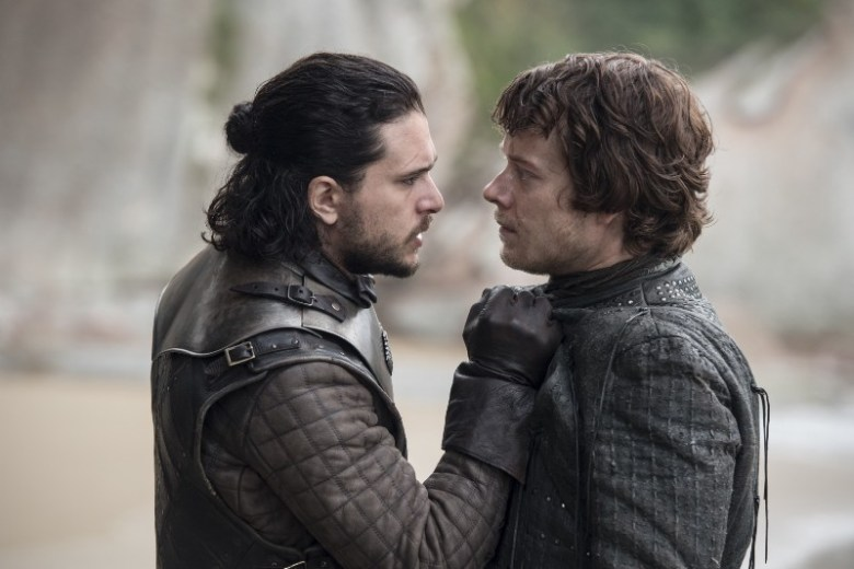 The Spoils of War - Jon Snow and Theon Greyjoy