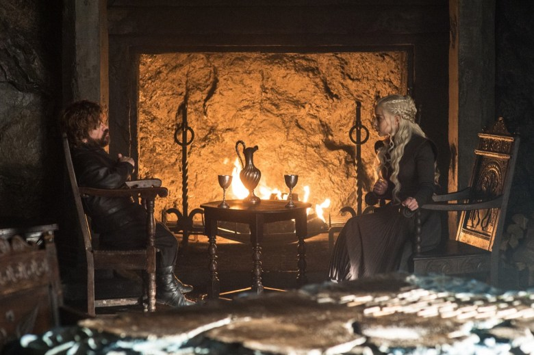 Beyond the Wall - Tyrion and Daenerys