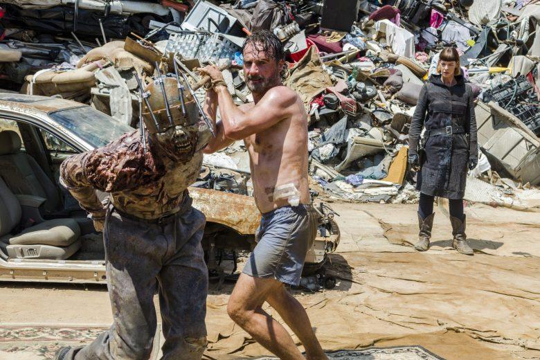 Time For After: Rick battles Jadis walker